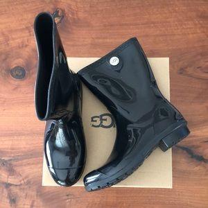Ugg Sienna size 8 black rainboot